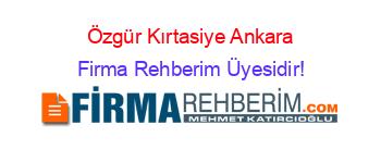 özgür Kirtasiye çankaya Ankara Firma Rehberim
